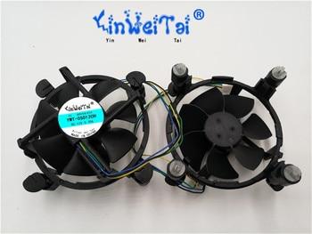 Новый вентилятор для Intel E97375-001 E97378-001 E97379-001 DELTA 0 6A  NIDEC 0 28A FOXCONN 0 17A 1155/1150/1156 4 pin 4 линии