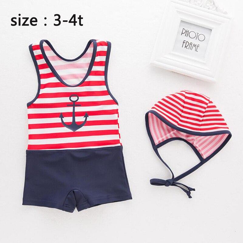 d42588153ab13 Baby/Infant Boy/Girls Kids Tankini Bikini Suit red/white Striped Beachwear Swimsuit  Swimwear Girl's Bathing Suit-in Swimwear from Mother & Kids on ...