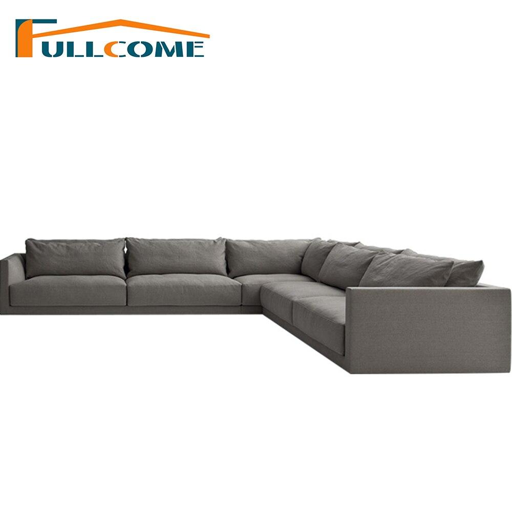 Modern Design Floor Sofa Bed 5 Position Adjustable Sofa Plaid ...