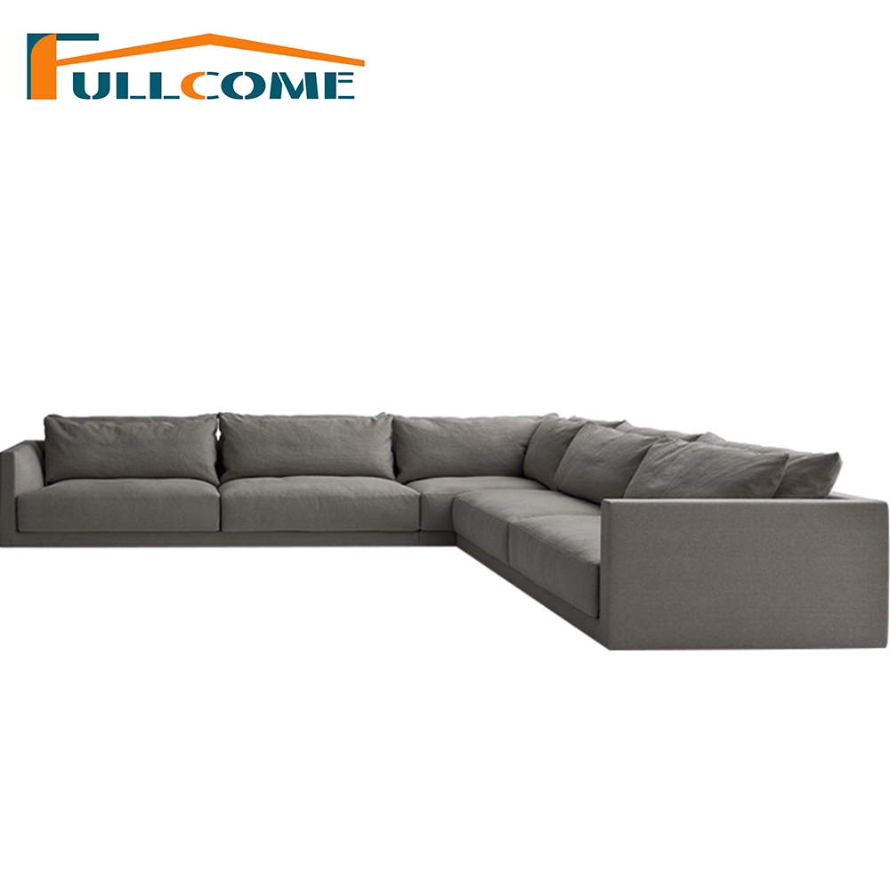 цены Luxury Sofas Modern Furniture Fabric Scandinavian Sofa Korean Living Room Furniture Feather Italian Corner Sectional Couch
