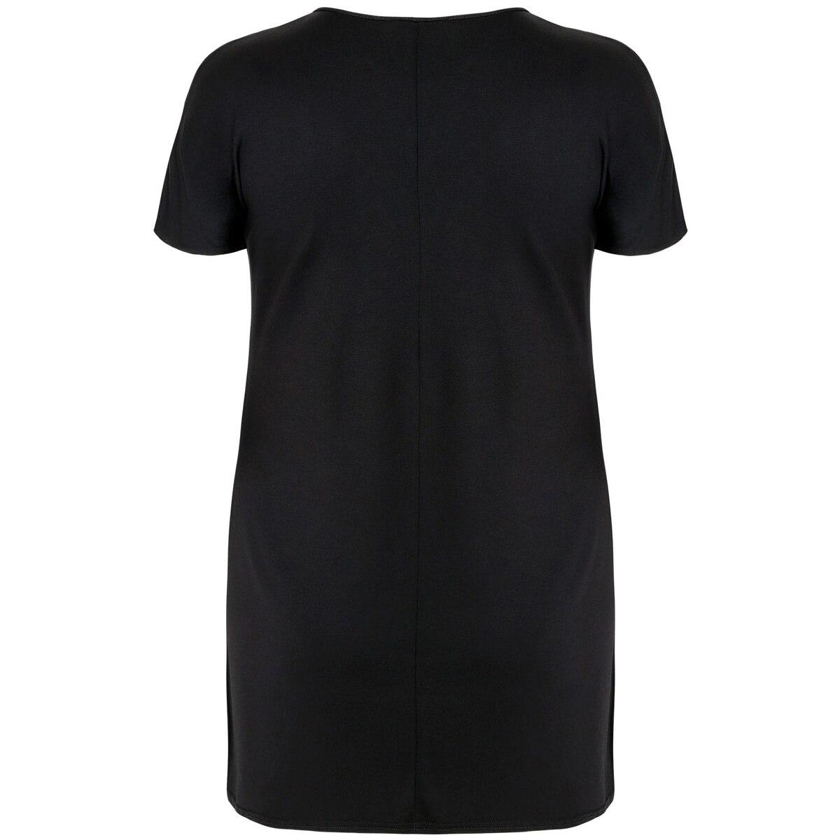 5c247311489 Kissmilk Women Plus Size Floral Print Mini Punk T shirt Dress Cut Out Short  Sleeve Club Party Dress Large Size Dress 3XL 7XL-in Dresses from Women s ...