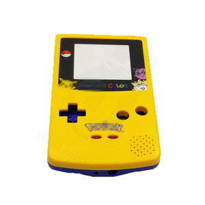 DIY Game Case For P0kem0n Limited Edition Yellow Blue Housing Shell Cover Case Replacement For Gameboy Color for GBC(China)