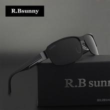 Черные модные Брендовая Дизайнерская обувь HD поляризованные Солнцезащитные очки Для мужчин Polaroid UV400 вождения р. bsunny Солнцезащитные очки R1606 Óculos De Sol Gafas