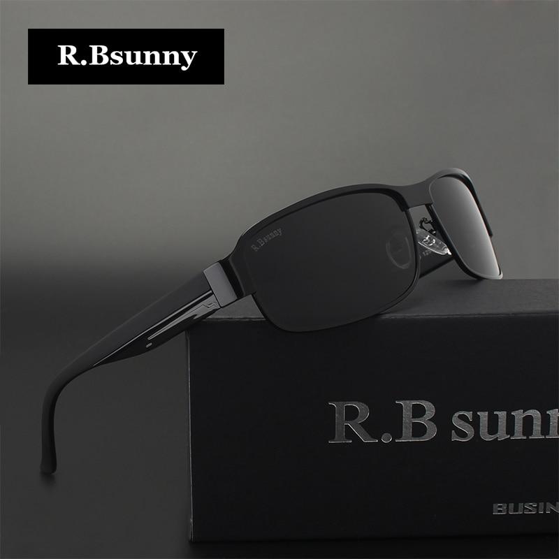 ba33e53cc830c R. Bsunny HD Polarizada Óculos De Sol Dos Homens Designer de Marca Do  Vintage Masculino óculos de Sol Óculos de Condução óculos de pesca com  todos os ...