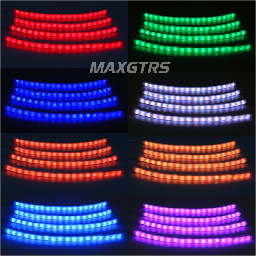 Car rgb led strip light music control led strip lights 7 colors car rgb led strip light music control led strip lights 7 colors car styling atmosphere lamps car interior light with remote in decorative lamp from aloadofball Image collections