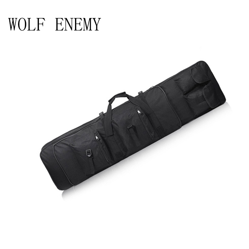 Outdoor Military Hunting Tactical Bag Hunting Gun Accessories Square Carry Bag Gun Protection Case Backpack 140cm / 55.1 47 folding fishing rod bag tactical duel rifle gun carry bag with shoulder strap outdoor fishing hunting gear accessory bag