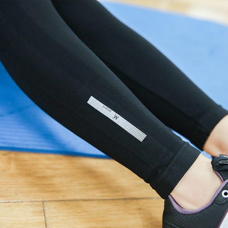 Υψηλή ελαστική Fitness Γυναικεία Pantalon - Αθλητικά είδη και αξεσουάρ - Φωτογραφία 6