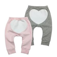 2 szt Zestaw przetargu niemowląt spodnie dla niemowląt niemowląt noworodka maluch niemowląt chłopców dziewcząt wiosna jesień dorywczo spodnie Harem ubrania dla dzieci tanie tanio Pełnej długości Elastyczny pas Proste Drukuj Pasuje prawda na wymiar weź swój normalny rozmiar Unisex tender Babies