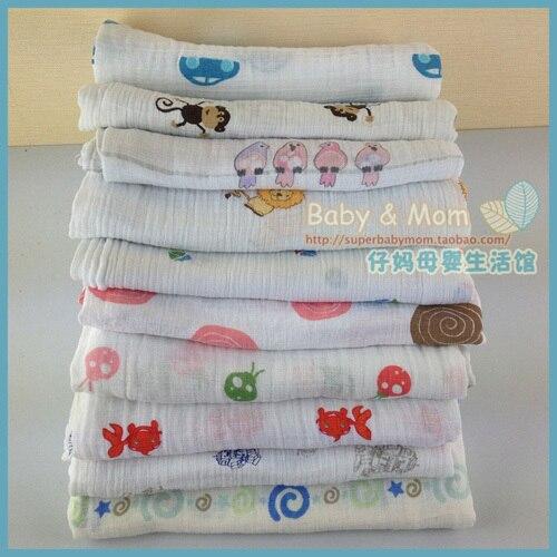 Бесплатная доставка Аден anais чистый хлопок новорожденный марля муслин одеяла один ярус 100% хлопок дышащая