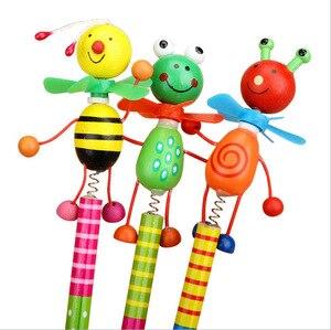 Image 2 - 48 יח\חבילה תלמידי הפרס ילדי קריקטורה בעלי החיים HB עץ עיפרון חג המולד יום הולדת קידום מתנה