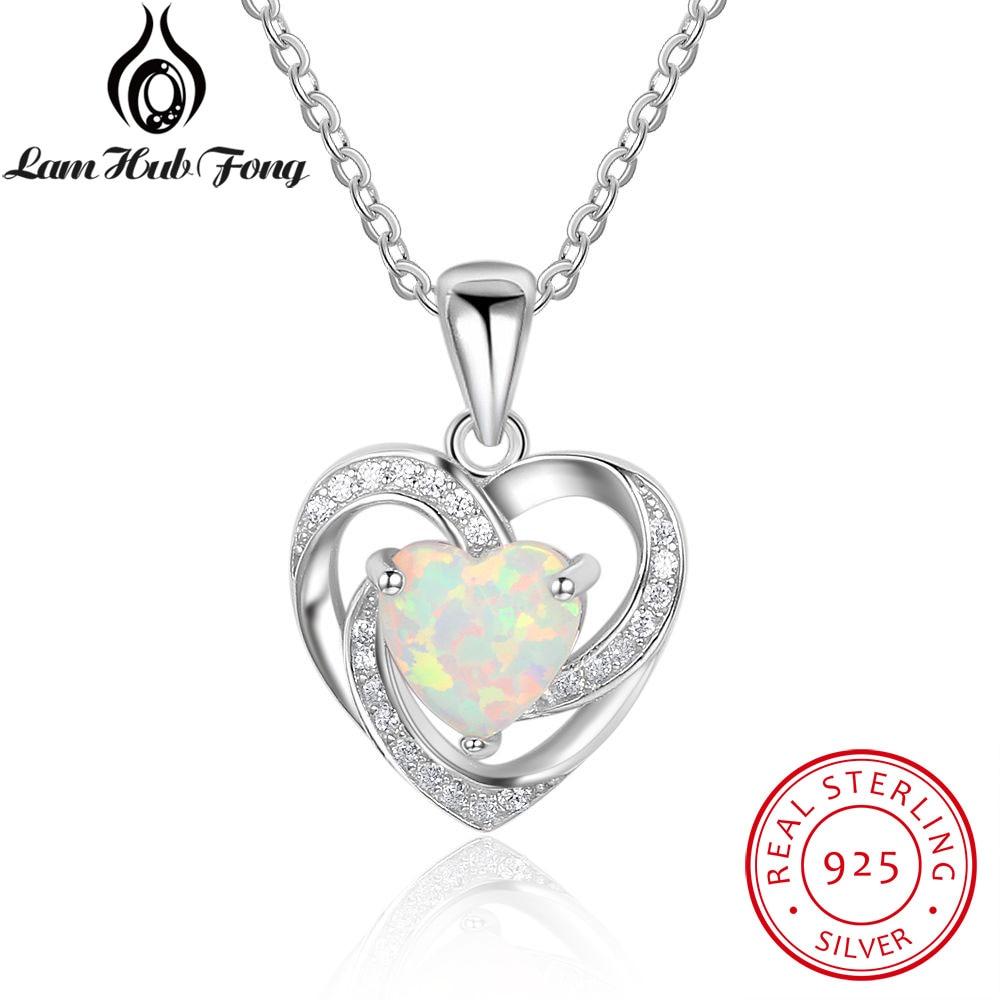 Blue fire opal /& Cz Heart .925 Sterling Silver Earrings