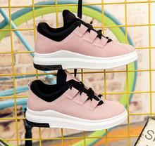2017 Горячей Продажи Хан Издание Платформы Торт С Белой Обуви Досуг Новый Розовый женская Обувь Дышащая Студенток