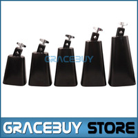 4 5 6 7 8 Inch Black Personalized Metal Cattlebell Cowbell NL4 NL5 NL6 NL7 NL8