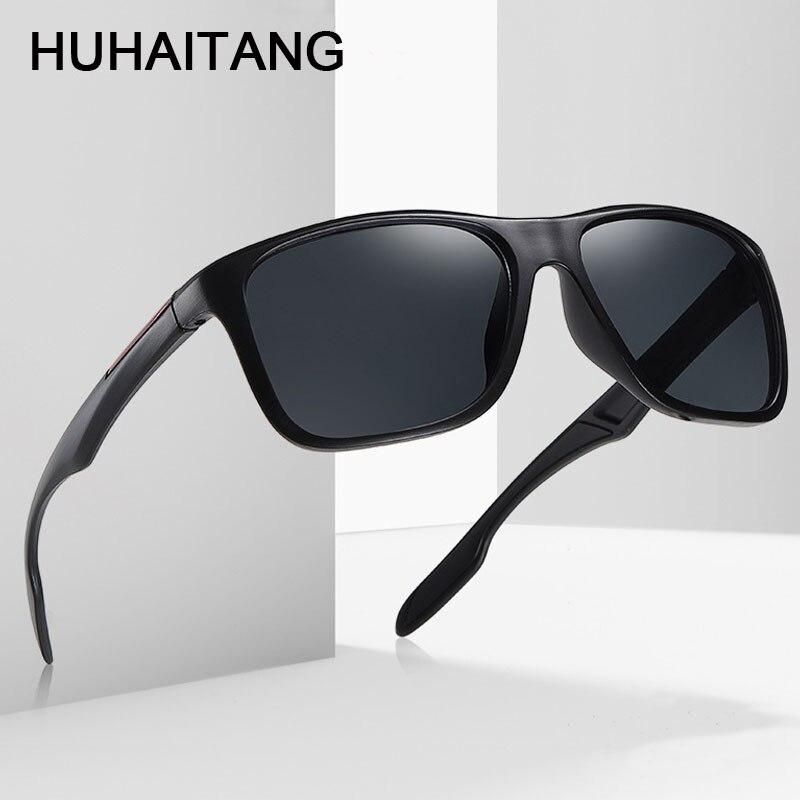 HUHAITANG Oversized Square Sunglasses Mens 2019 Designer Brand Outdoor Men Sun Glasses For Women High Quality Sports Sunglases