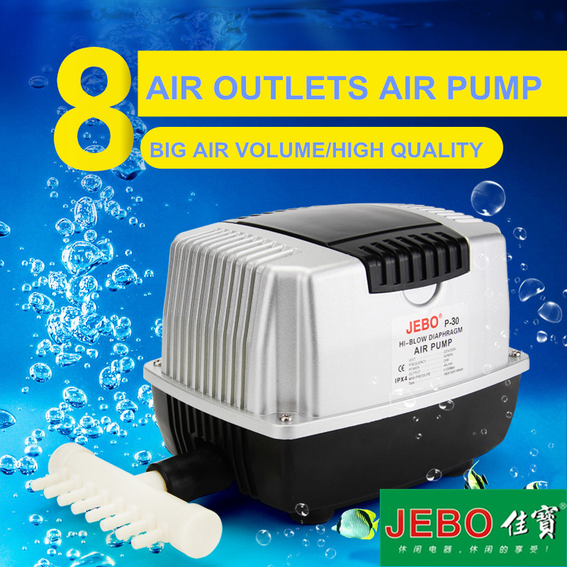 Aquarium Controller 10 Steps With Pictures: Aliexpress.com : Buy JEBO Big Air Pump 220~240V 10WFor
