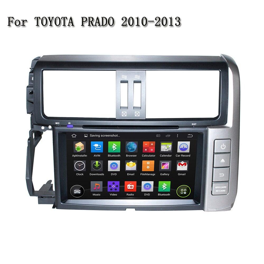 9 дюймов HD Специальное Android стерео dvd-плеер с GPS для Toyota Prado 2010-2013 Поддержка рулевое колесо управление