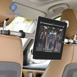 حامل ل اللوحي السيارات السيارة الخلفي مسند الرأس بالمقعد تصاعد حامل قرص العالمي ل 7-11 بوصة لباد Xiaomi سامسونج