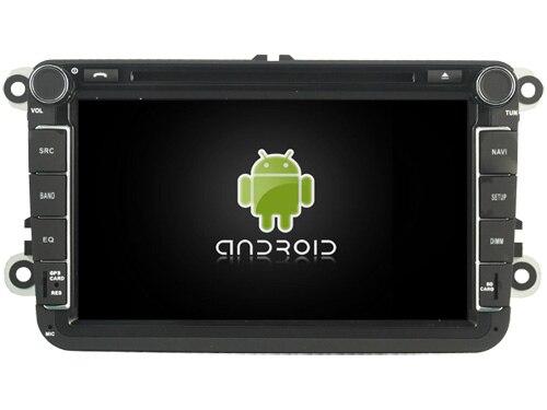 Lecteur DVD Audio de voiture Android 9.0 pour VW GOLF/TIGUAN/TOURAN/JETTA/B6/CADDY/PASSAT/récepteur de voiture gps SAGITAR