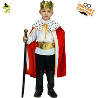 QLQ kids Prince Costume Halloween Cosplay The King Clothhing Children's Day Christmas Role Play Boys European Prince Costumes