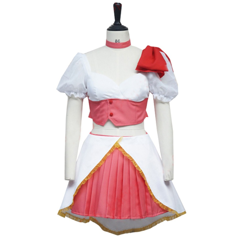 2018 Anime magique fille Ore Cosplay Costumes Uno Saki Cosplay Costume Mahou Shoujo Ore Saki Uno Cosplay Costume ensemble complet