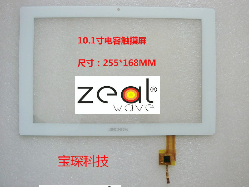10.1 inch touch screen, 100% New for A RCHOS AOSON  touch pad,Tablet PC touch panel digitizer TOPSUN_F0036_A2 car charger for tablet pc cube u10gt u10gt2 aoson m19 more black dc 9v