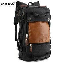 d1a119329d48 Бренд стильный путешествия холст большой ёмкость рюкзак мужской чемодан сумка  для ноутбука альпинизмом для мужчин функциональные