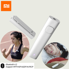Originale Xiaomi Bluetooth 4.2 Ricevitore Audio Senza Fili Adattatore Audio da 3.5mm di Musica Car Kit Speaker Cuffie Mani Libere