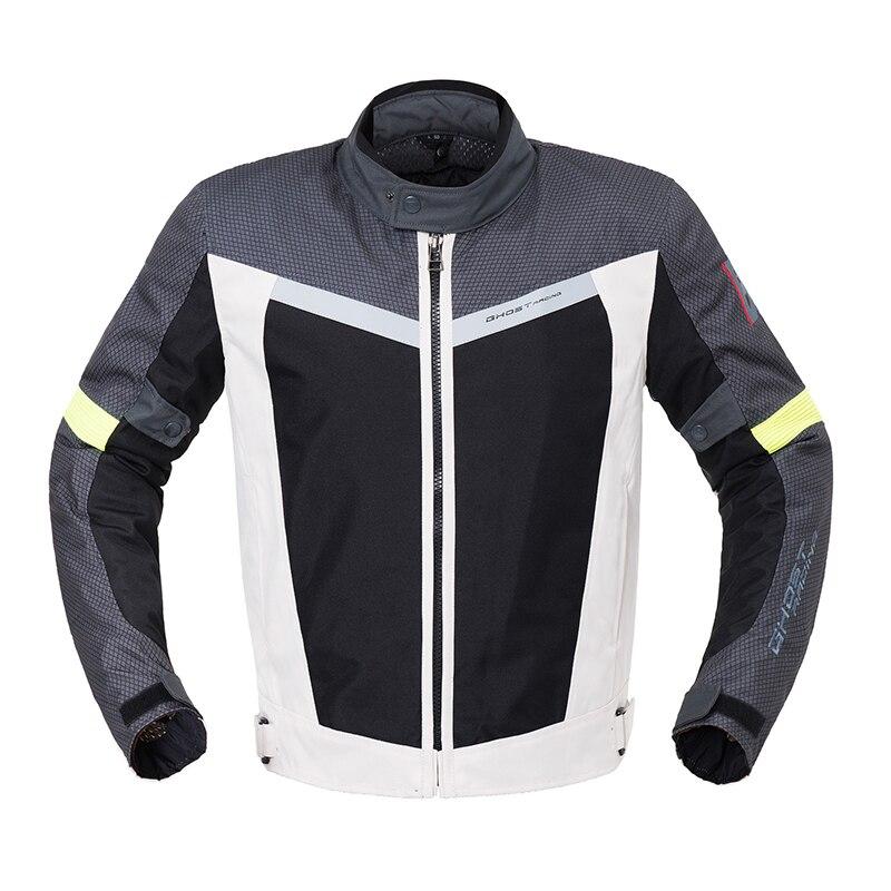Veste de moto équitation veste de course imperméable réfléchissant armure corporelle équipement de Protection veste de Motocross Protection de moto