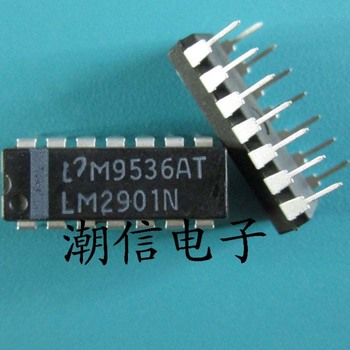 Free shipping new%100 new%100 LM2901N DIP-14 image