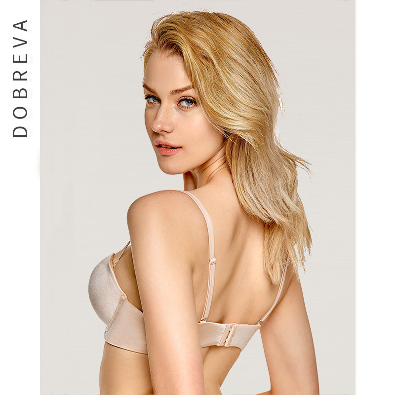 1eb810e17b DOBREVA Sexy Women Lingerie Strapless Bra Push Up Invisible Backless  Brassiere 1 2 Cup Bra Underwear Wedding Party Multiway -in Bras from  Underwear ...