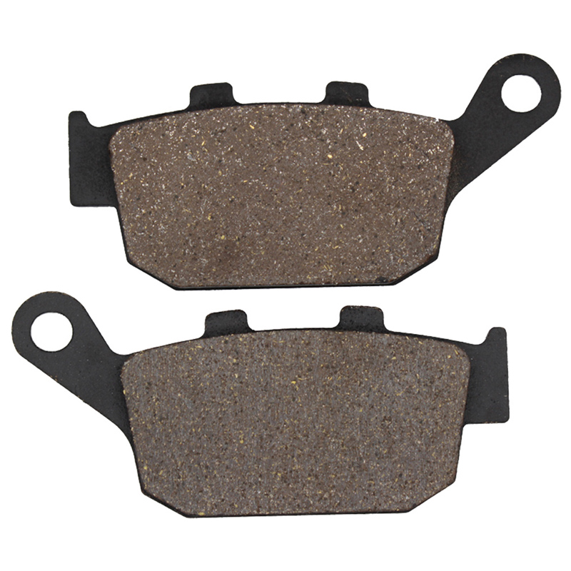 Cyleto Motorcycle Rear Brake Pads for HONDA CBR250 CBR 250 87-89 NSR250 NSR 250 1988-1992 CB400 CB 400 SF Superfour 1996-1997 2 pairs motorcycle brake pads for honda cbr250 cbr 250 rj rk rk2 mc19 1988 1989 black brake disc pad