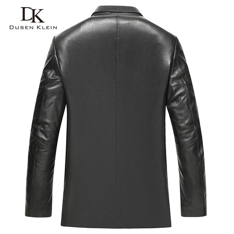Cuir Marque Black Klein Arrivée Manteaux Dusen Homme En Peau Dk719 Mince Véritable mode Noir Vestes Costume De Mouton Nouvelle FUXYxX5q