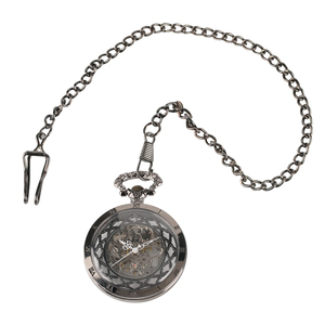Image 5 - Cuerda a mano Reloj de bolsillo mecánico Steampunk reloj de nuevo diseño de la marca de lujo de moda hueco relojes para hombre mujer montre femme