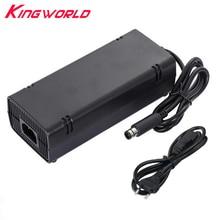 Cable de alimentación de adaptador de CA para Microsoft Xbox 360 E, cargador de enchufe de la UE, 50 Uds.