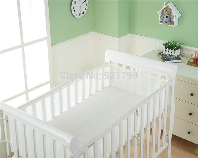 Breathable Mesh Baby Bed Bumpers Crib Bumper Summer Kid Bedding Set infant 3d Sets