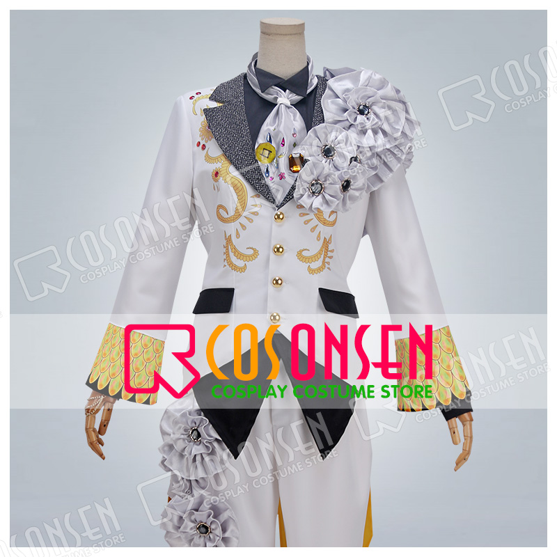 Image 2 - Anime Idolish7 OP Nagi Rokuya WiSH VOYAGE Cosplay Costume new Full Set All Sizes COSPLAYONSEN adult costume-in Game Costumes from Novelty & Special Use