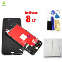 New Black 100 Guarantee AAA Replacement Screen For Iphone 8 LCD Touch Digitizer Full Assembly Cell