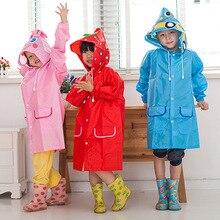 00f4f1f16a5 1 pc Dos Desenhos Animados do Animal do Estilo Crianças Impermeável capa de  Chuva Para Crianças
