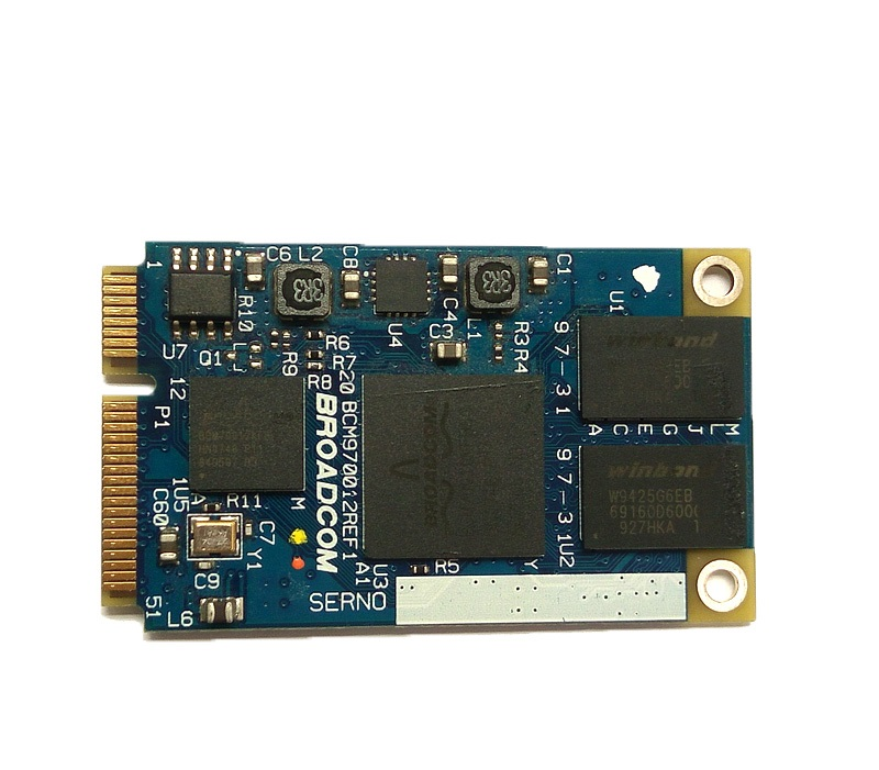 SSEA New Card 1080p For Broadcom BCM70012 BCM970012 BCM70010 AW-VD904 Crystal HD Decoder Mini PCI-E Card