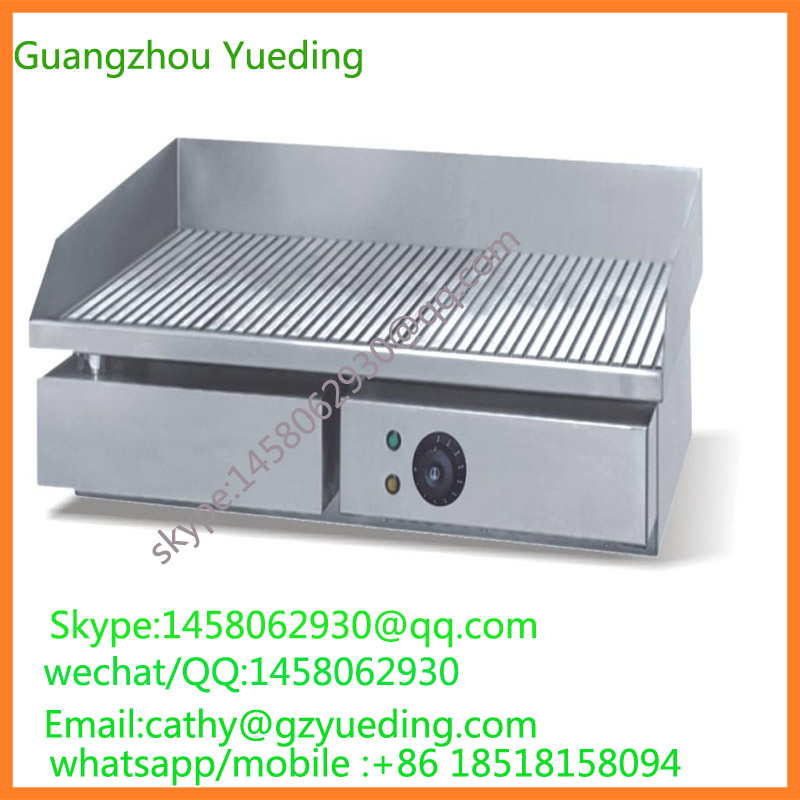 цена Commercial Stainless Steel Electric Cast Iron Grill Griddle tainless Steel Electric Griddle