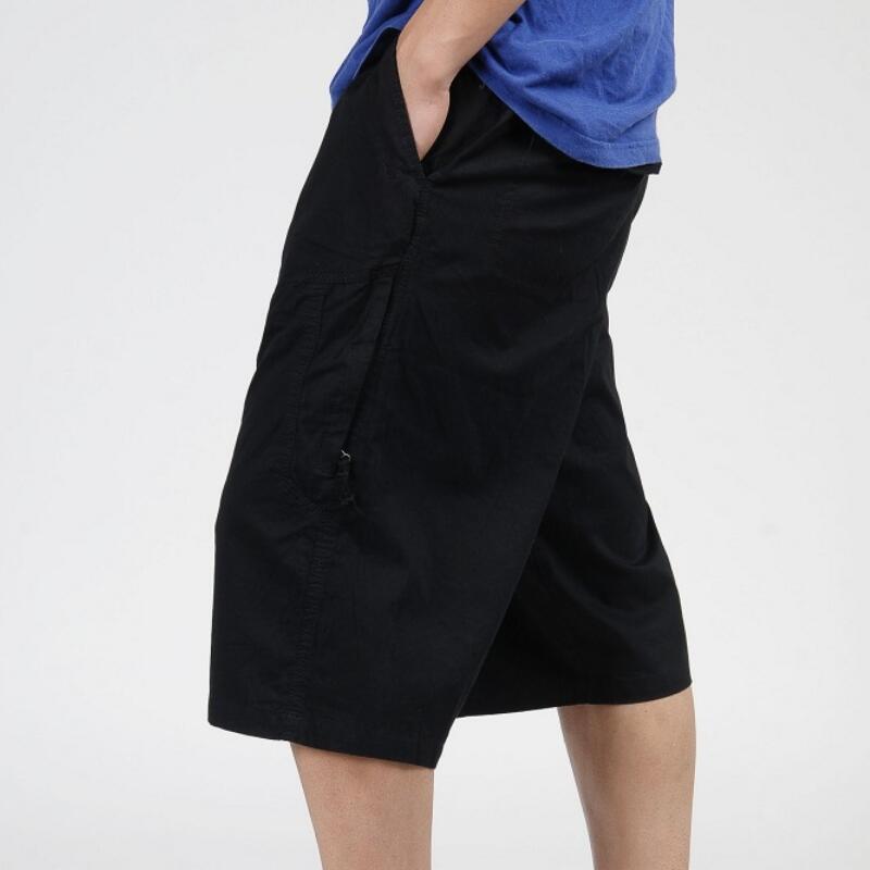 New Mens Casual Shorts Male Loose Work Shorts Man Military Short Pants