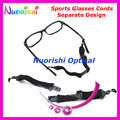 5pcs Separate Design Anti Slip Adjustable Sports Eyewear Glasses Sunglasses String Lanyard Cords Holder Free Shipping L657