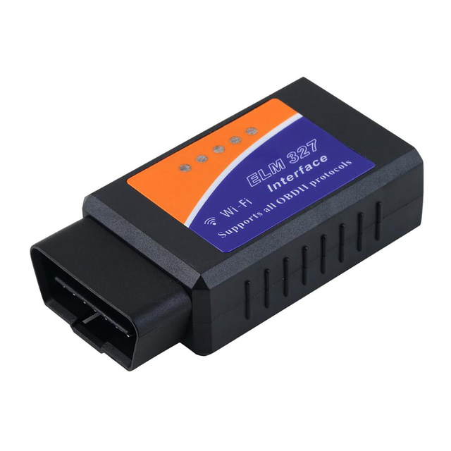 Newst WIFI Auto Scanner Wireless OBD2 OBDII Adapter bluetooth ELM 327 Interface Auto Car Diagnostic Scanner for iPhone *