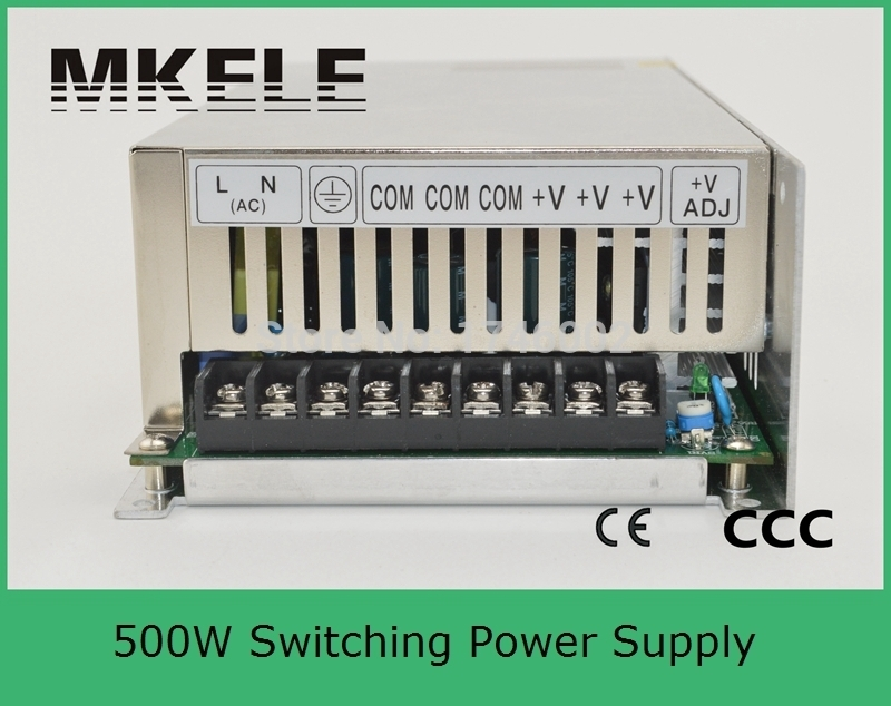 ФОТО Free Shipping Sufficient power 500W Switching Power Supply 12v 40A Power Switch AC 110V/220V Led Driver For Led Strip Lamp