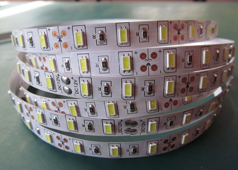 Free Shipping Cost Factory price <font><b>LED</b></font> strip light 300LED good sale SMD5630 60LED Strip light wholesale Double FPC board Good 3M