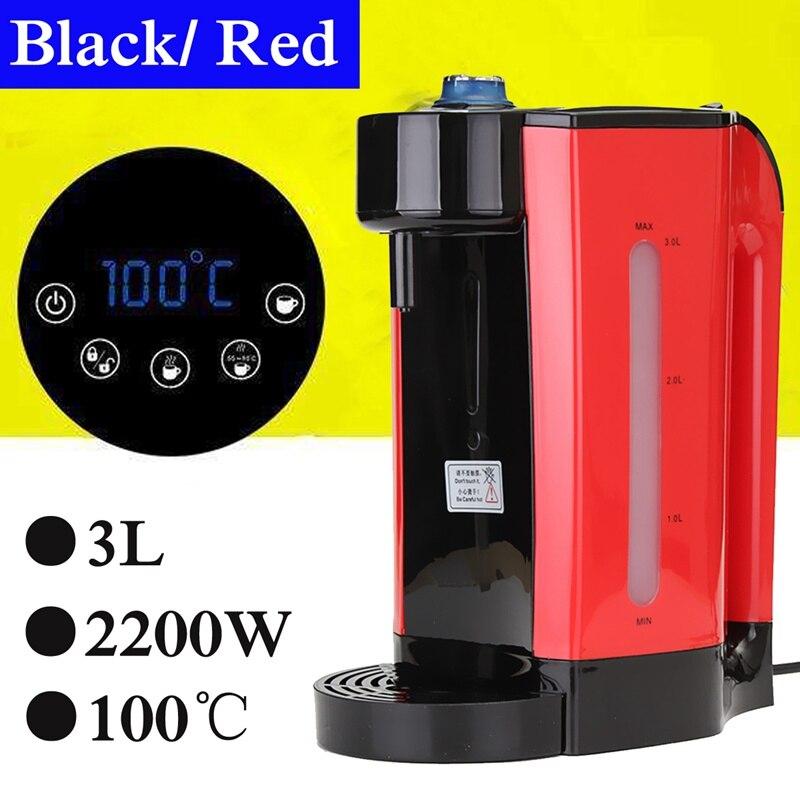 2200 W 3L chauffage instantané électrique distributeur d'eau chaude chaudière bouilloire électrique bureau cafetière bouilloire bouillante
