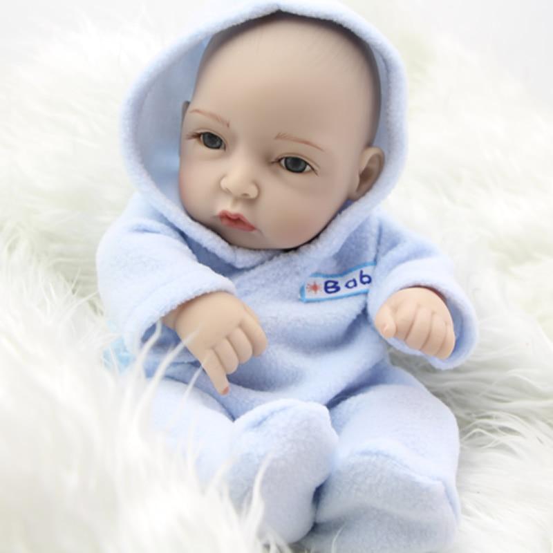 Normal face 11 inch tiny tiny reborn baby dolls boy boy