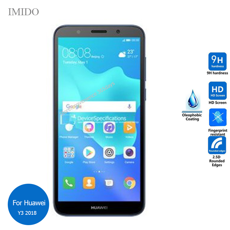 2PCS <font><b>For</b></font> <font><b>Huawei</b></font> Y5 Lite 2018 Tempered Glass Screen Protector 9h Safety Protective Film on Y 5 Lite Y5Lite <font><b>DRA</b></font>-LX5 <font><b>DRA</b></font> LX5 <font><b>LX2</b></font> image