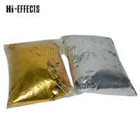 2KG/lot Gold and Silver Mylar Confetti Paper Metallic Confetti Paper Stage Special Effect for Confetti Machine in Wedding Show