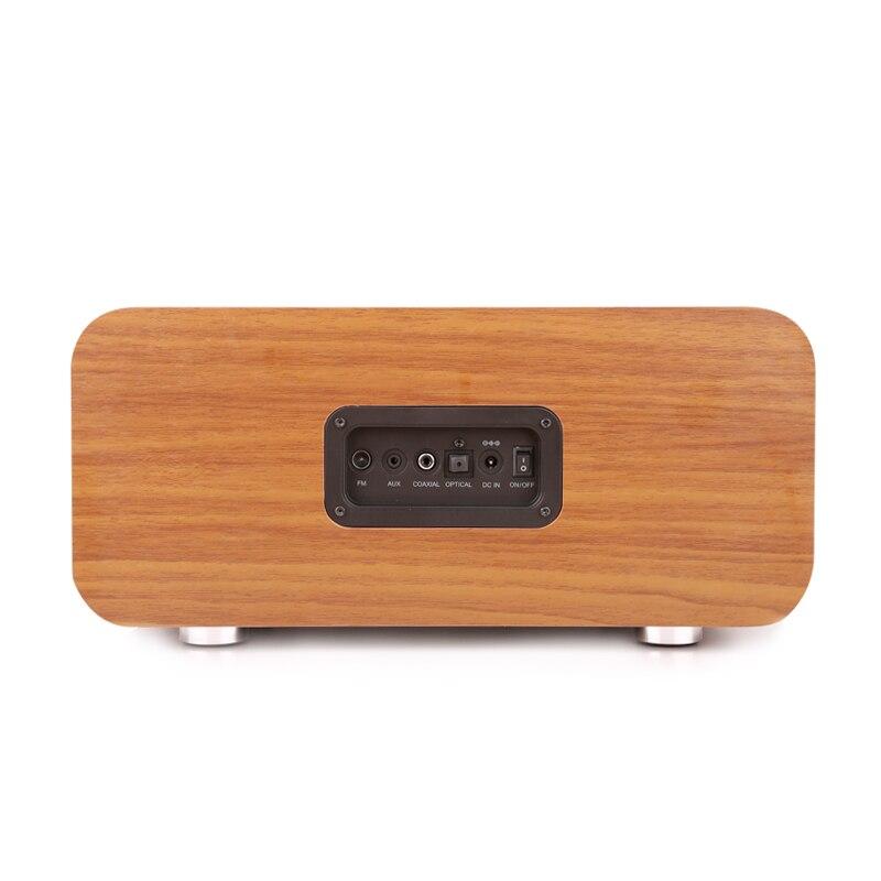 Sounderlink Neus Retro madera inalámbrica Bluetooth Smart TV de cine en casa de Casa altavoz boombox dormitorio reloj HiFi calidad de sonido - 4